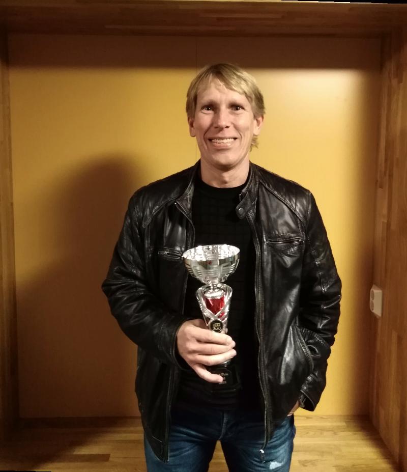 Vinnare KM 2019 Niklas Ottenklev.
